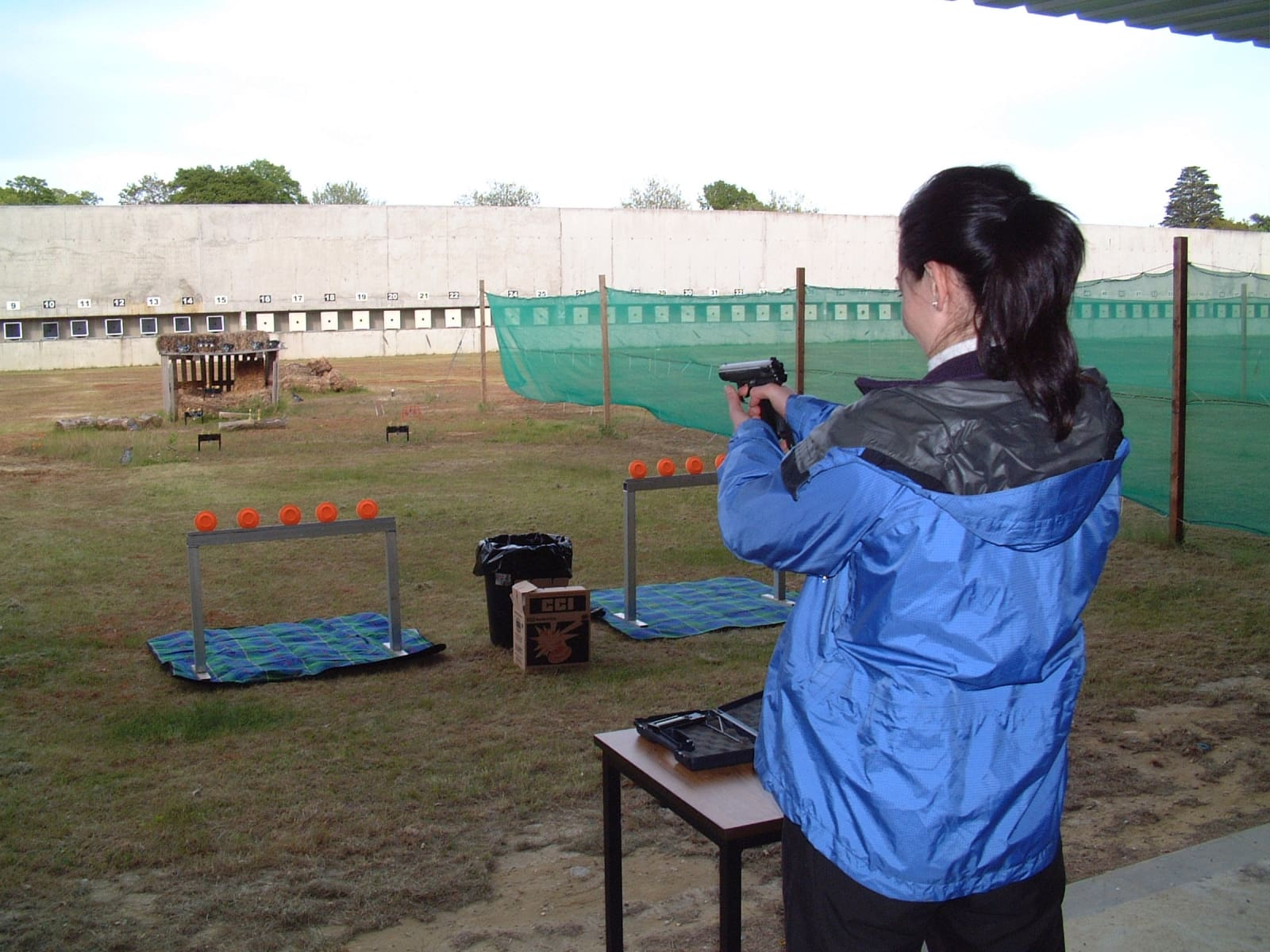 Air Pistol Target Clay Shooting