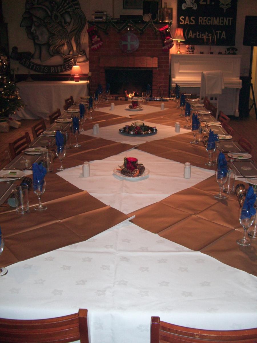 Dinner set up 3